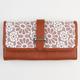 Daisy Crochet Bifold Wallet