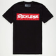 YOUNG & RECKLESS Scrawl Box Mens T-Shirt