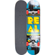 REAL SKATEBOARDS Games Never Over Small Full Complete Skateboard