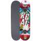 REAL SKATEBOARDS Tie Dye Medium Full Complete Skateboard