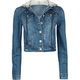 HIGHWAY Denim Womens Hooded Jacket