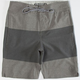 VOLCOM Heather Stripe Hybrid Boys Shorts
