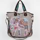 T-SHIRT & JEANS Tribal Elephant Tote Bag
