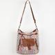 T-SHIRT & JEANS Ethnic Print Crossbody Bag