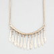 FULL TILT Dangle Spike Statement Necklace