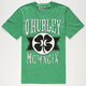 HURLEY Green Leaf Mens T-Shirt