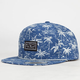 RIP CURL Tropical Gardens Mens Snapback Hat