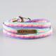 RASTACLAT Wrapped Oval Lace Bracelet
