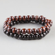 2 Piece Wood Bead Braclets