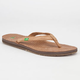 SANUK Spritzer Leather Womens Sandals