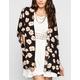 FULL TILT Daisy Print Womens Kimono
