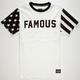 FAMOUS STARS & STRAPS Claim Striper Mens T-Shirt