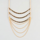 FULL TILT 3 Tier Bar Necklace