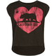 FULL TILT Cali Bear Girls Crop Tee