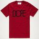 DOPE Classic Logo Mens T-Shirt