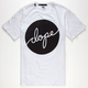 DOPE Circle Script Mens T-Shirt