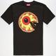 MISHKA Pizza Keep Watch Mens T-Shirt