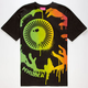 MISHKA Overspray Keep Watch Mens T-Shirt