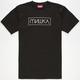 MISHKA Cyrillic Box Logo Mens T-Shirt