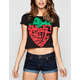 FULL TILT Sweet Strawberry Baby Womens Tee