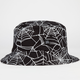 40OZ NYC Spider Web Mens Reversible Bucket Hat