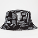 40OZ NYC Skeleton Mens Reversible Bucket Hat