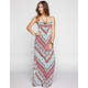 FULL TILT Paisley Border Print Maxi Dress