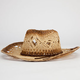 Open Weave Womens Straw Cowboy Hat