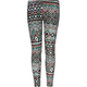 FULL TILT Bright Ethnic Print Girls Leggings