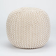 Crochet Pouf Ottoman