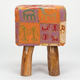 RAJ Ethnic Patchwork Stool