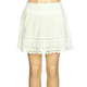 HIPPIE LAUNDRY Girls Voile Crochet Skirt
