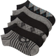 BLUE CROWN Mixed Mens Six Pack Ankle Socks