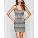 FULL TILT Ethnic Print Bodycon Dress
