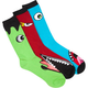BLUE CROWN Monster Mens Three Pack Crew Socks