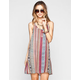 FULL TILT Ethnic Print Slip Dress