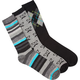 BLUE CROWN Mixed Mens Three Pack Crew Socks