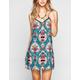 CHLOE K Tie Back Slip Dress