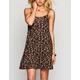 CHLOE K Ditsy Print Dress