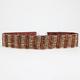 Wood Bead Wrap Belt