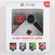 OLLOCLIP 4-in-1 iPhone 5/5S Lens
