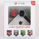OLLOCLIP 4-in-1 iPhone 5/5S Lens