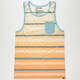 HURLEY Fade To Mens Pocket Tank