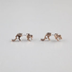 FULL TILT Tiger Front To Back Earrings