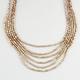 FULL TILT 6 Row Seed Bead Necklace