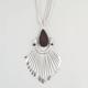 FULL TILT 3 Chain Teardrop Spoon Necklace