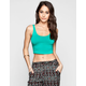 FULL TILT Essential Womens Short Crop Tank