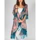 RAJ Paisley Fringe Blanket Sweater