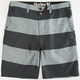 HURLEY Mariner Jail House Mens Hybrid Shorts