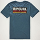 RIP CURL The Search Mens T-Shirt